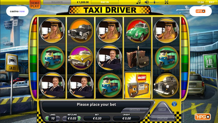 Taxi Driver, Holland Power Gaming, RTP , Max Bet , Min Bet